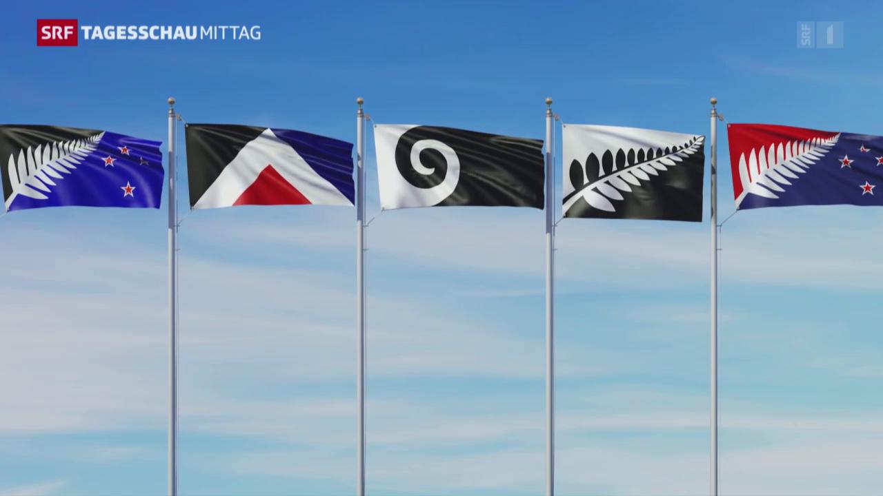 Neuseeland stimmt über neue Fahne ab