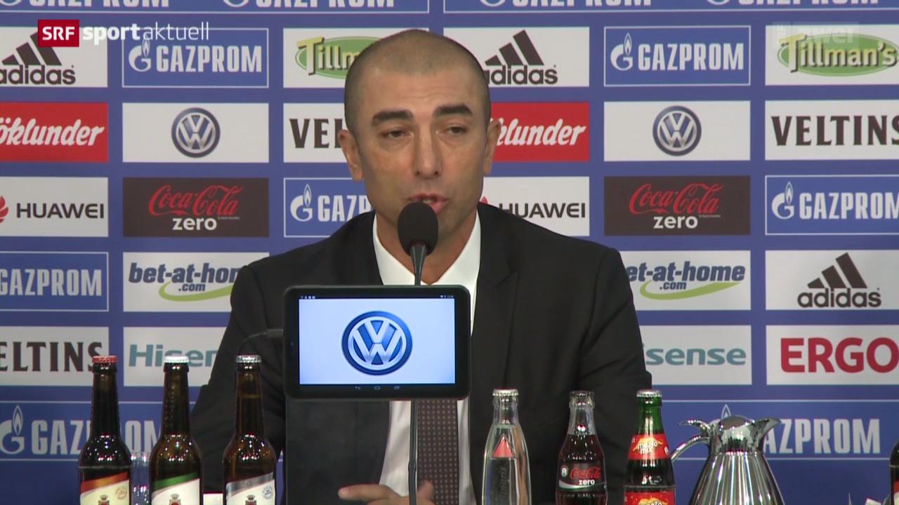 Fussball: Bundesliga, Roberto Di Matteo wird auf Schalke vorgestellt