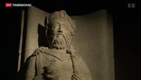 Video «Landesmuseum Zürich zeigt «Karl der Grosse und die Schweiz»» abspielen