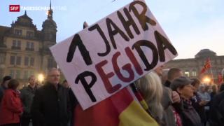 Video «Pegida mobilisiert wieder Massen» abspielen