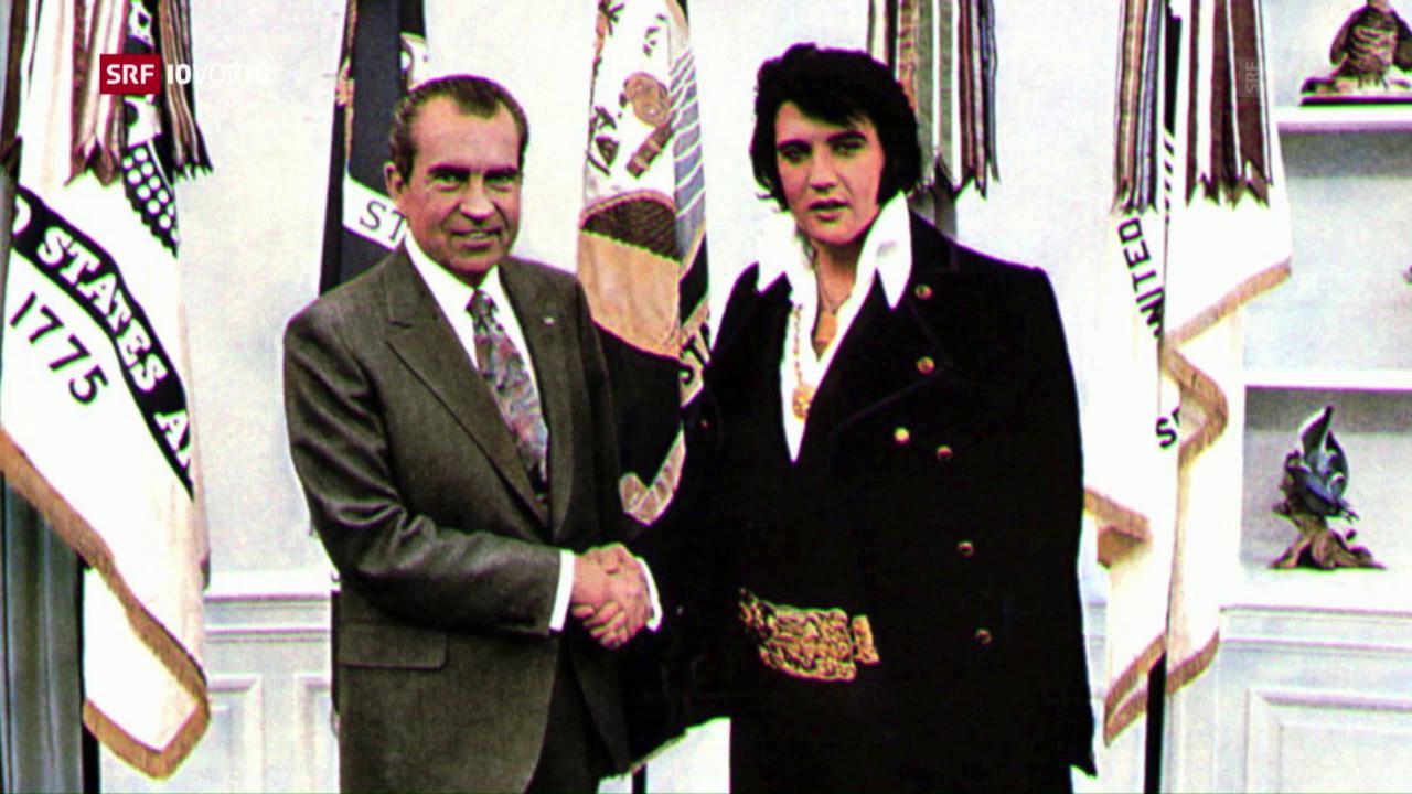 «Presley und Nixon» zusammen auf der Kinoleinwand