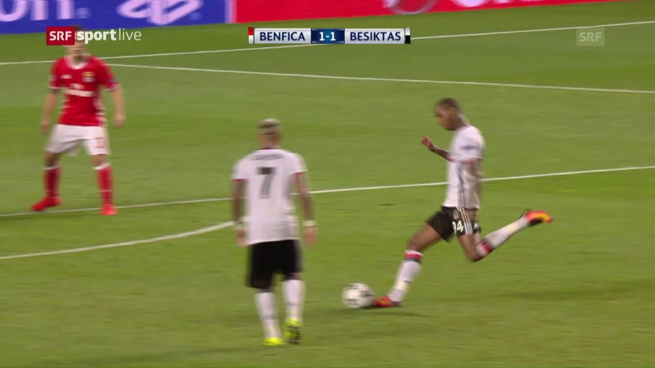 Unglückliches Leihgeschäft: Talisca trifft gegen Benfica