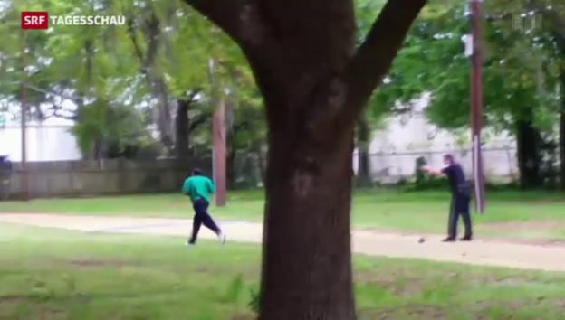 Video «Tödliche Polizeigewalt in South Carolina» abspielen