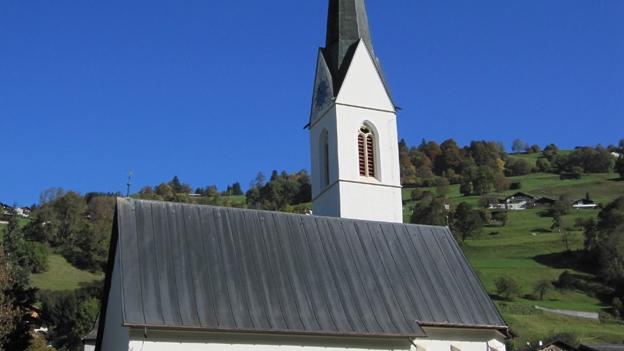 Glockengeläut der reformierten Kirche in Küblis