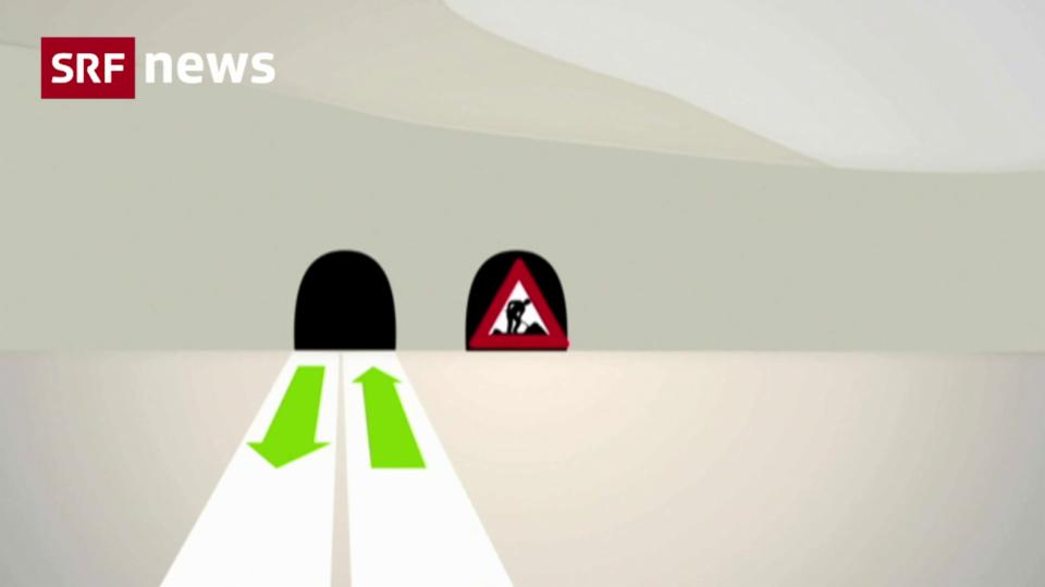 Erste Autos rollen 2029 durch die zweite Gotthard-Röhre