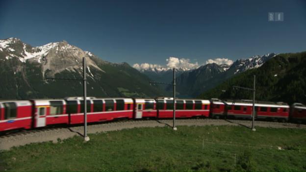 Video «Bummler statt Bernina-Express: Reisebüro bucht falschen Zug» abspielen