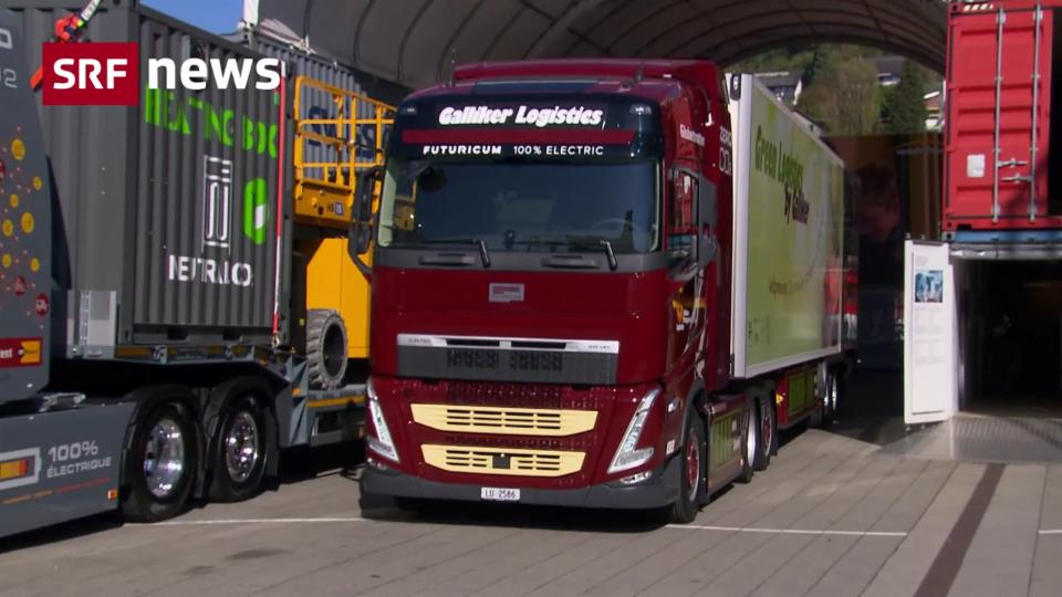 Elektrische Lastwagen erobern die Schweiz