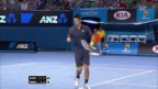 Video «Australian Open: Novak Djokovic - Ryan Harrison» abspielen