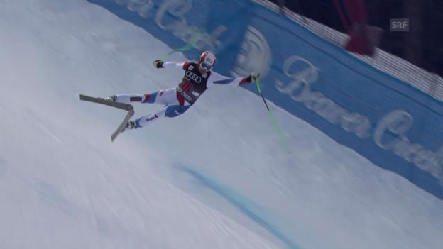 Video «Ski alpin: Männer-Abfahrt Beaver Creek, Ausfall von Patrick Küng» abspielen