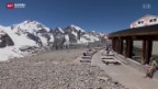 Video «Neue Aussichtsplattform auf Gletscher» abspielen