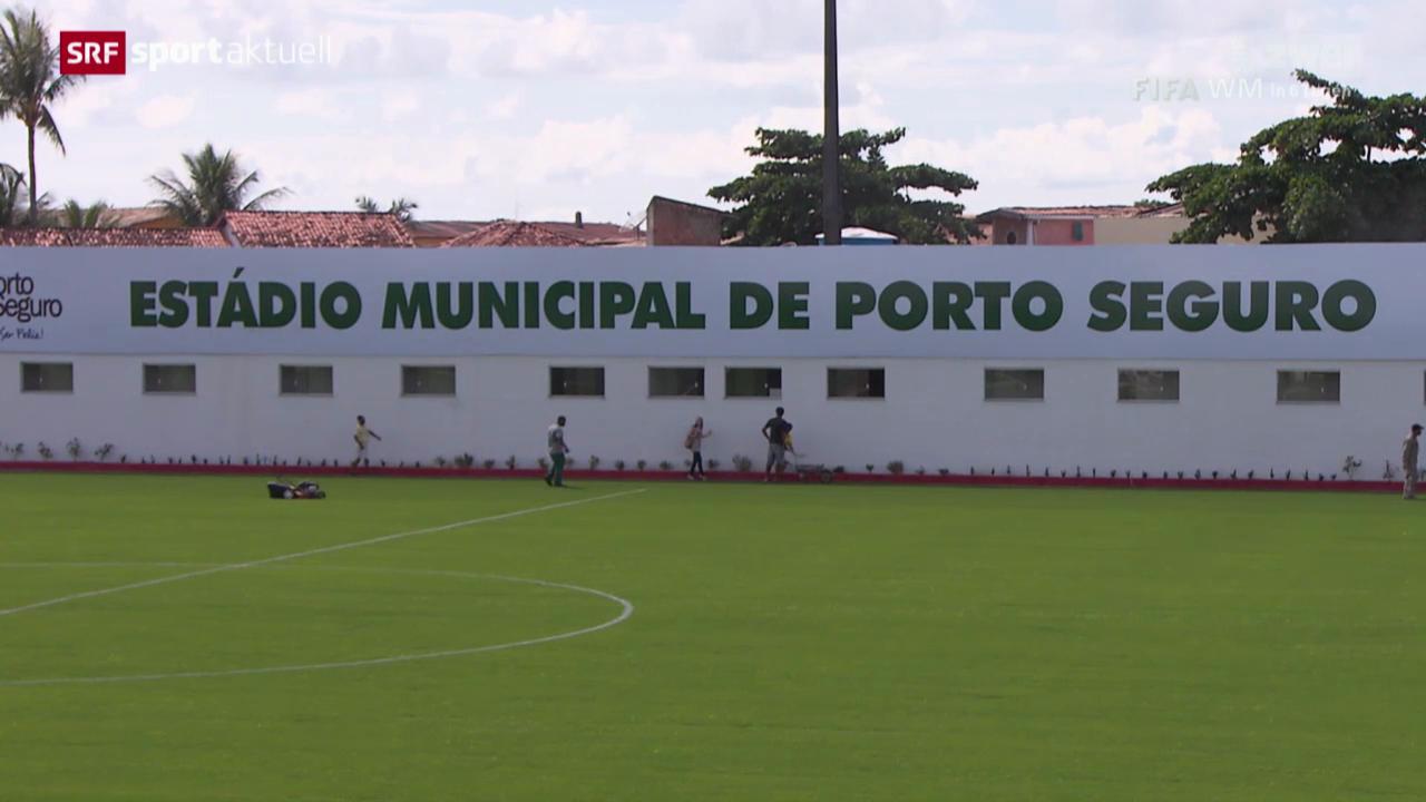 Fussball: Das Trainingsgelände der Nati in Porto Seguro