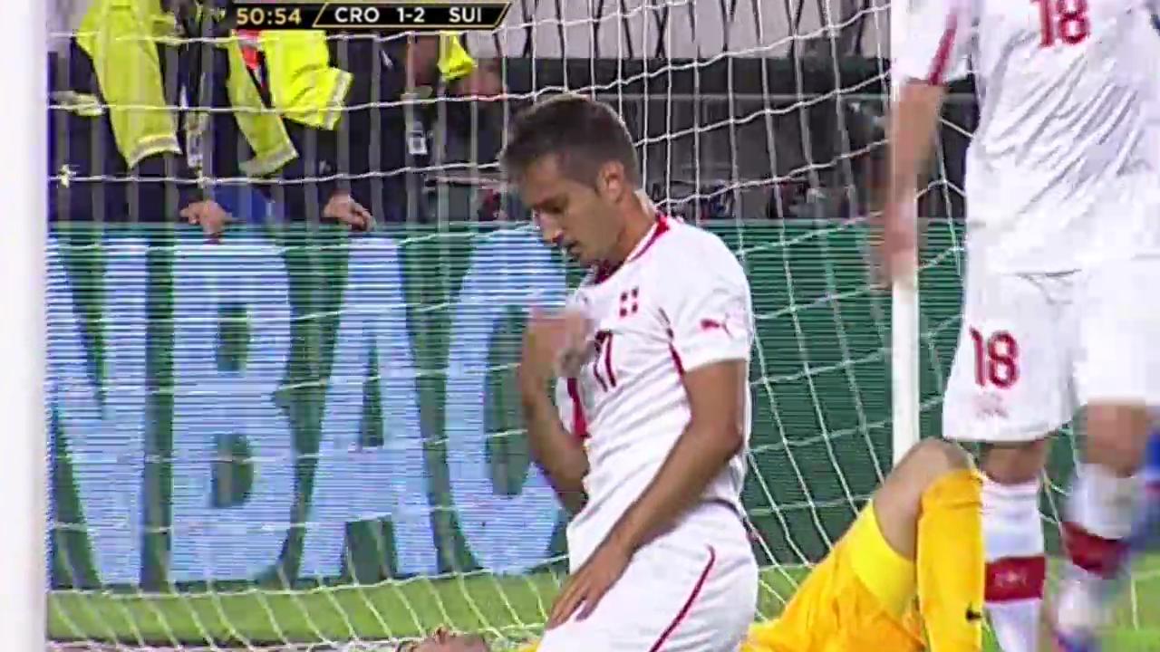Fussball: Schweiz - Kroatien, bisherige Duelle