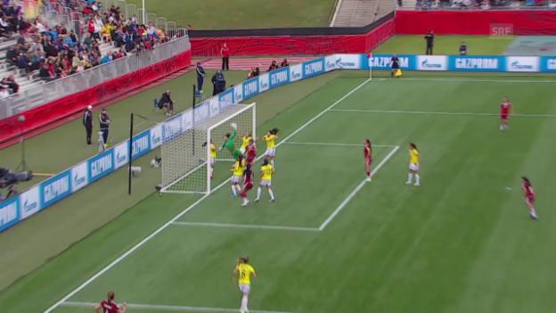 Video «Fussball: Frauen-WM, Kolumbien - Mexiko, Tor zum 1:0» abspielen