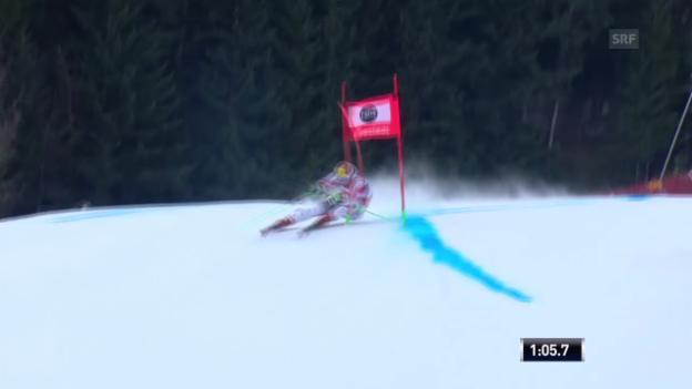 Video «Ski Alpin: Weltcup, Riesenslalom Alta Badia, 1. Lauf Marcel Hirscher» abspielen