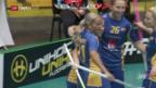 Video «Schweizer Unihockeyanerinnen kommen gegen Schweden unter die Räder» abspielen
