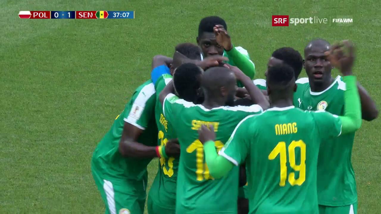 Polen erwacht zu spät und verliert gegen Senegal