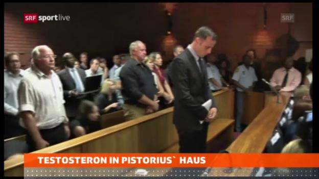 Video «Oscar Pistorius steht unter Mordverdacht» abspielen