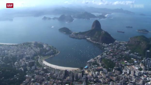 Video «Olympia: Rio ein Jahr vor den Spielen 2016» abspielen