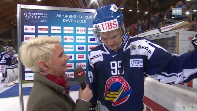 Spengler Cup: Interview Thomas Wellinger