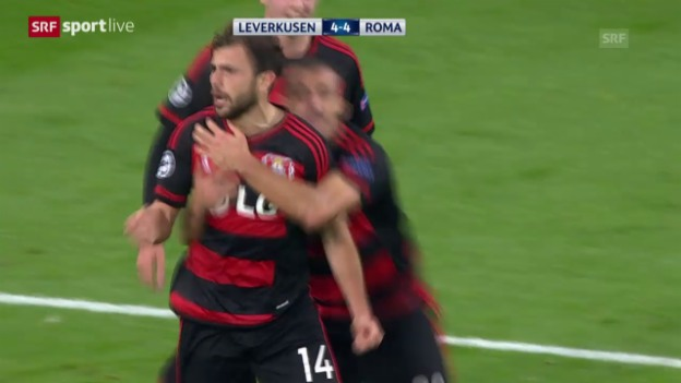 Video «Fussball: Champions League, 3. Runde, Leverkusen - Roma» abspielen