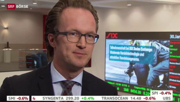 Video «SRF Börse vom 30.01.2015» abspielen