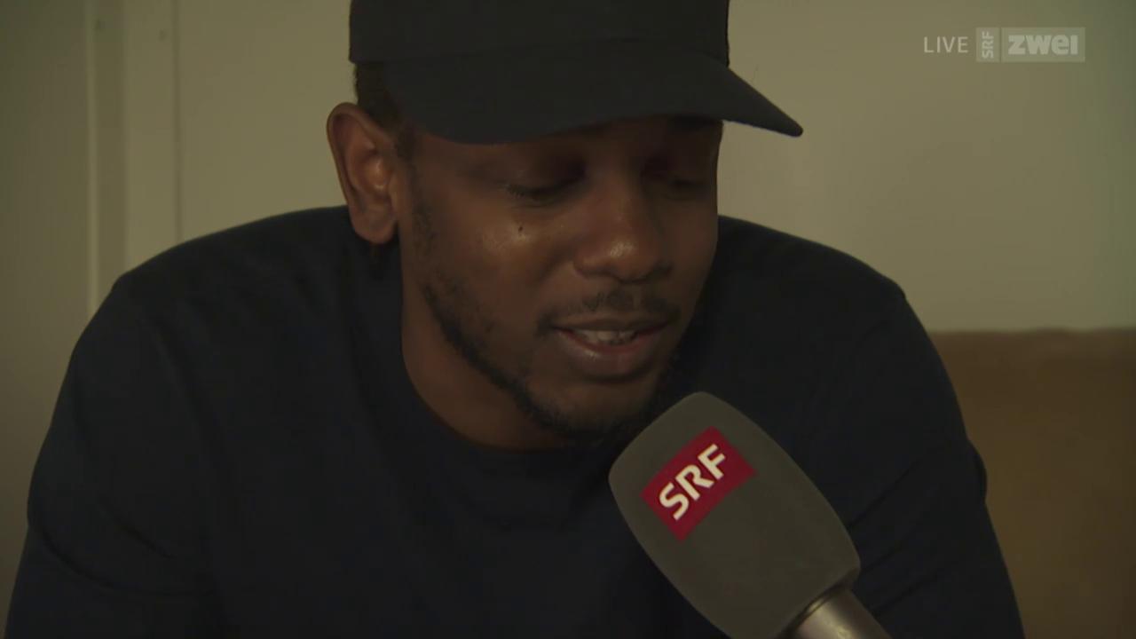 Interview mit Kendrick Lamar - Openair Frauenfeld 2015