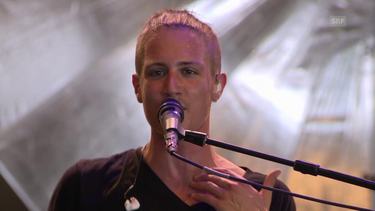Yokko am Gurtenfestival 2014