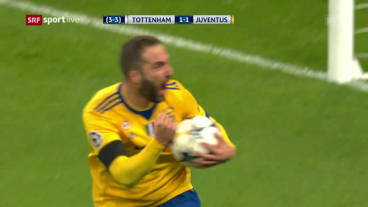 Juventus schlägt Tottenham