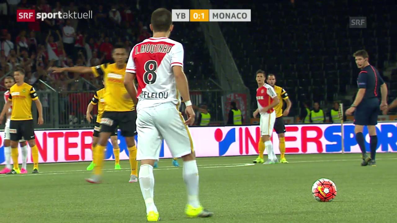 Fussball: Zusammenfassung YB-Monaco