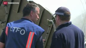 Video «Reaktionen zu MH17-Untersuchungsbericht» abspielen