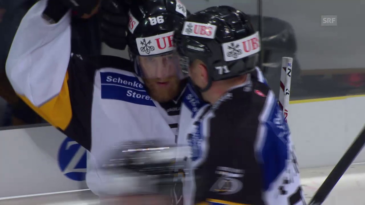 Eishockey: Spengler Cup 2015, Jokerit-Lugano, 3:3 Brunner und 4:3 Klase