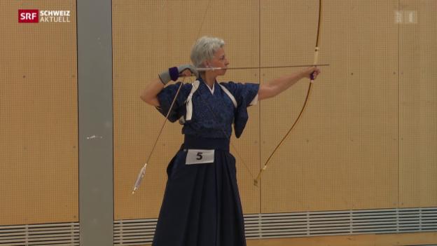 Video «Kyudo in Magglingen» abspielen