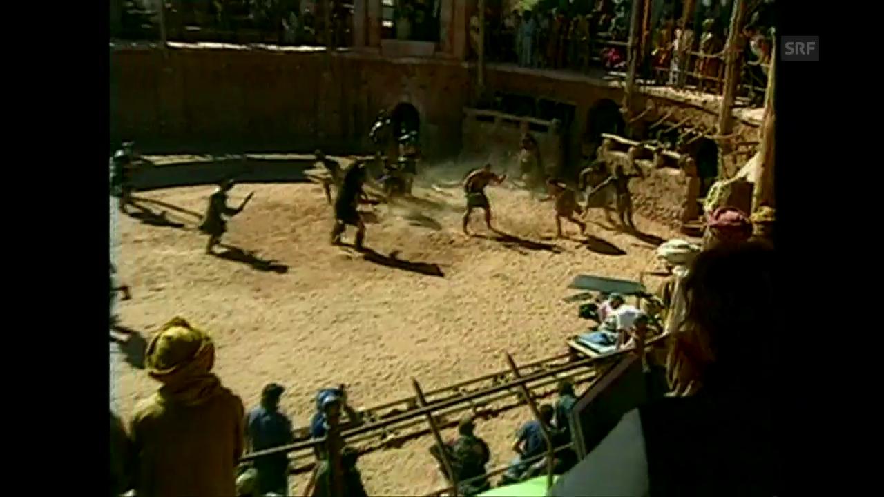 Filmausschnitte «Gladiator»
