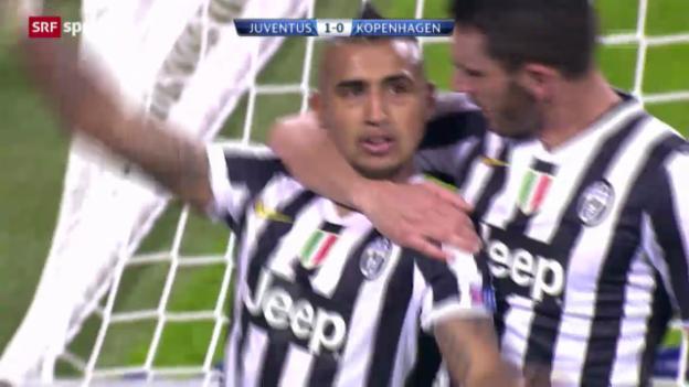 Video «Fussball: CL, Juventus - Kopenhagen» abspielen
