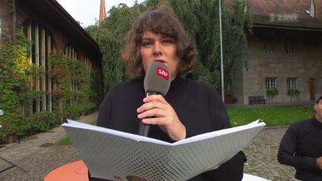 Video «Patti Basler: Schnellste Protokollantin der Schweiz» abspielen