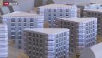 Video ««10vor10»-Serie: dreieckige Wohnungen für Genossenschafter» abspielen