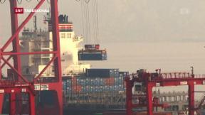 Video «Auswirkungen der Strafzölle auf die Weltwirtschaft» abspielen