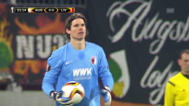 Video «EL: Augsburg - Liverpool» abspielen