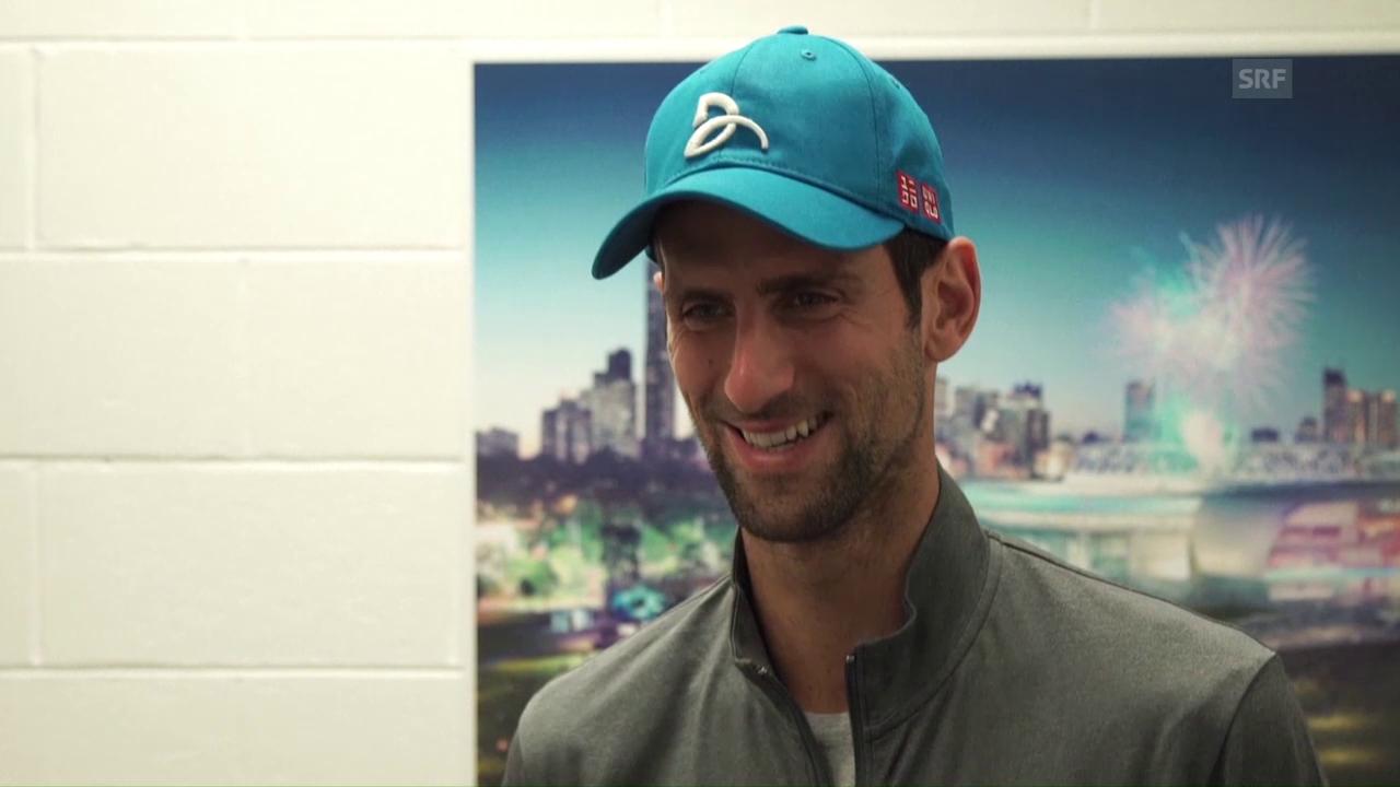 Djokovic versprüht vor den Australian Open viel Zuversicht (SNTV)