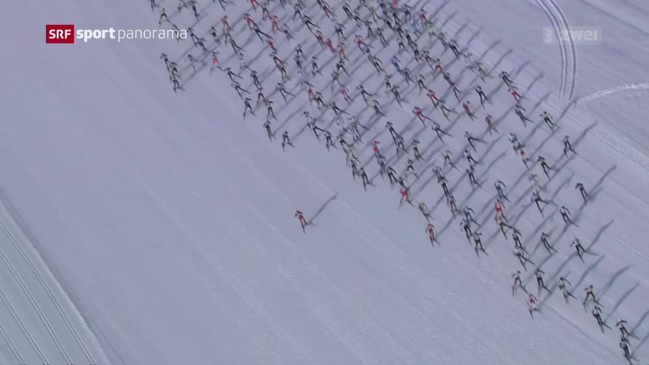 Engadin Skimarathon: Der Renntag
