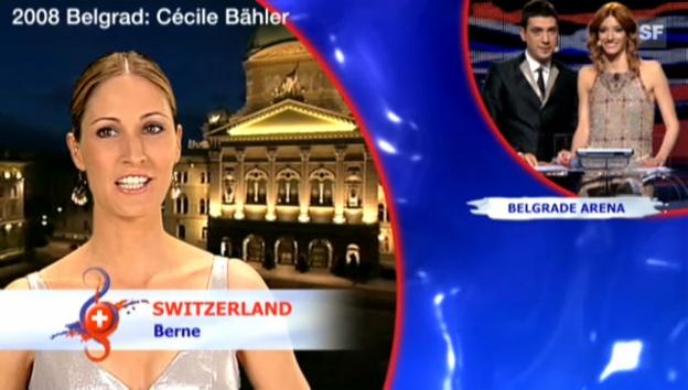 Video «Eurovision Song Contest: Die Sprecherinnen der Schweiz» abspielen