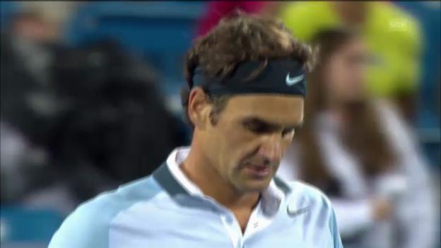 Video «Tennis: Federer - Kohlschreiber» abspielen