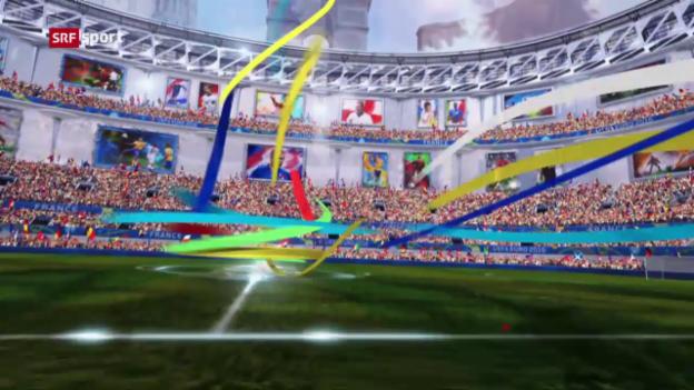 Video «UEFA EURO 2016 vom 02.04.2016» abspielen