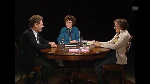 Video ««Neujahrsgespräch 1983»: Elisabeth Kübler-Ross und Hans Küng, Teil 2» abspielen