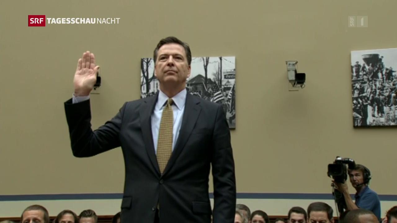 Comey hat Fehler begangen: Bericht zu Ex-FBI-Direktor