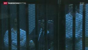 Video «Drei Jahre Haft für Hosni Mubarak » abspielen