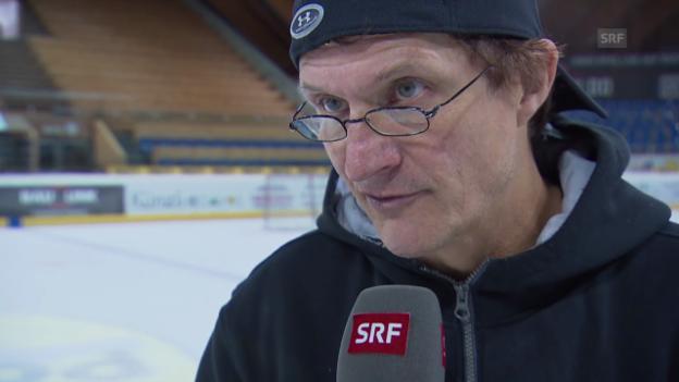 Video «Eishockey: Interview mit Arno del Curto» abspielen