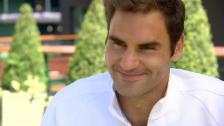 Video «Federer: «Wird ein Rennen mit Nadal»» abspielen