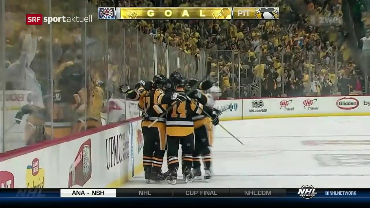 Mark Streit mit Pittsburgh im Stanley-Cup-Final