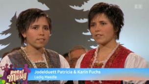Video «Nachwuchs: Jodelduett Karin & Patricia Fuchs» abspielen